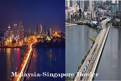 Malaysia Singapore border
