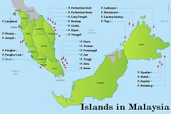 All islands in Malaysia