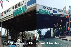 Malaysia Thailand border